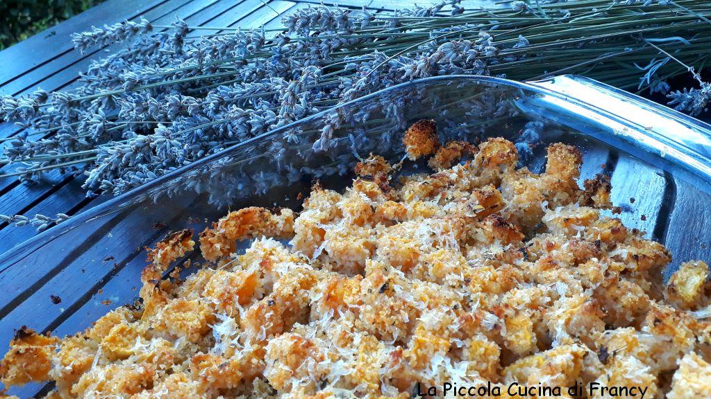 Zucca al forno sabbiata